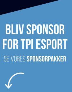 Bliv sponsor for TPI Esport
